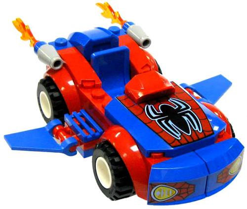 LEGO Marvel Super Heroes Spider-Car Loose Vehicle [Loose]
