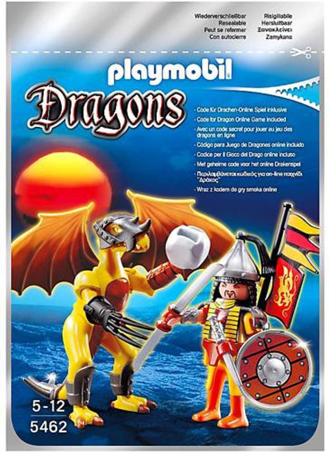 Playmobil Dragons Stone Dragon with Warrior Set #5462