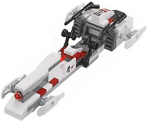 LEGO Star Wars Saleucami BARC Speeder Loose Vehicle [Loose]