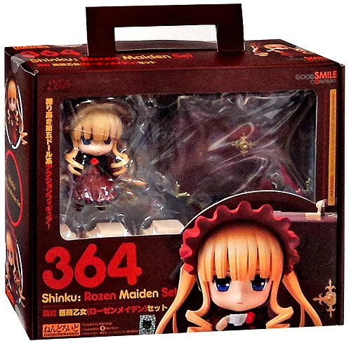 Shinku Nendoroid Rozen Maiden Figure Set #364