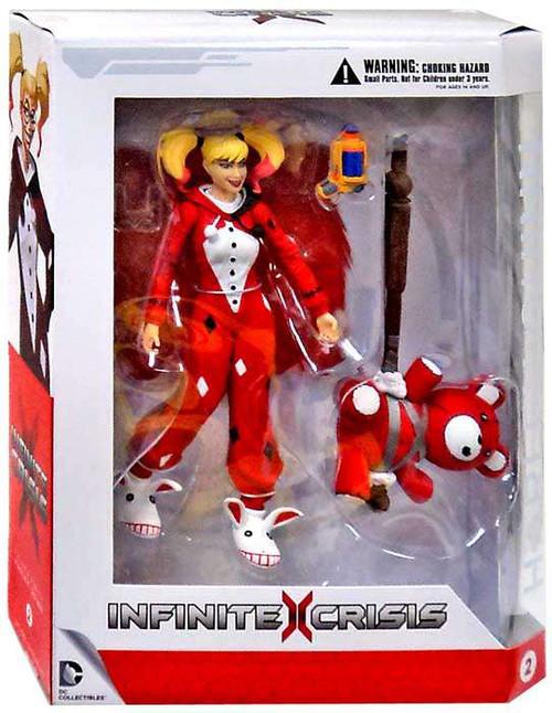 Dc Infinite Crisis Harley Quinn Action Figure Pajamas Dc