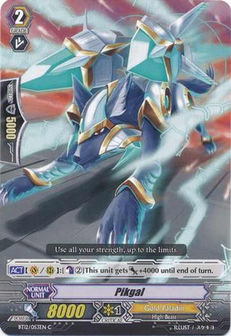 Cardfight Vanguard Binding Force of the Black Rings Common Peekgal BT12/053