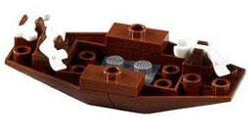 LEGO Pirates Derelict Row Boat Loose Vehicle [Loose]