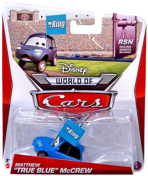 "Disney Cars The World of Cars Series 2 Matthew ""True Blue"" McCrew Diecast Car"