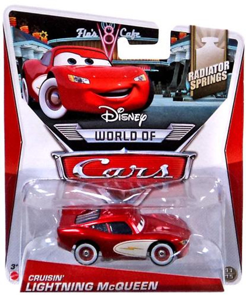 Disney Cars The World of Cars Series 2 Cruisin' Lightning McQueen Diecast Car