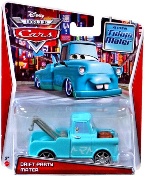 Disney Cars The World of Cars Series 2 Drift Party Mater Exclusive Diecast Car