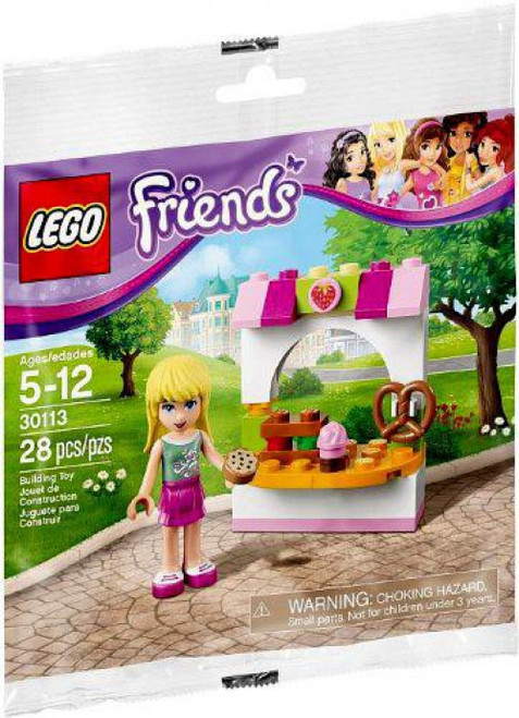 LEGO Friends Stephanie's Bakery Stand Mini Set #30113 [Bagged]