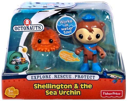 Fisher Price Octonauts Shellington & The Sea Urchin Figure Set