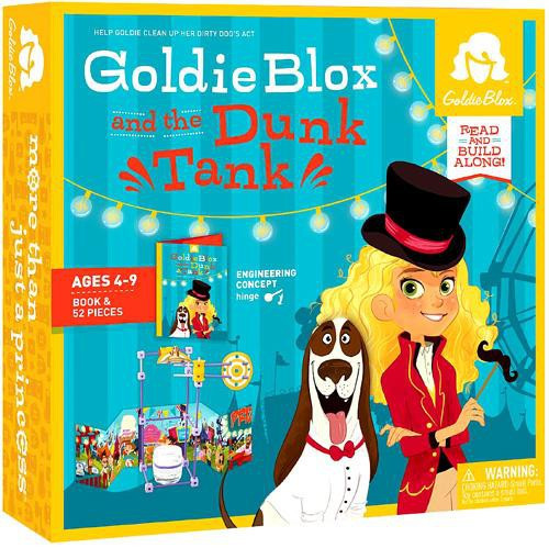 Goldie Blox & the Dunk Tank Read Along Book