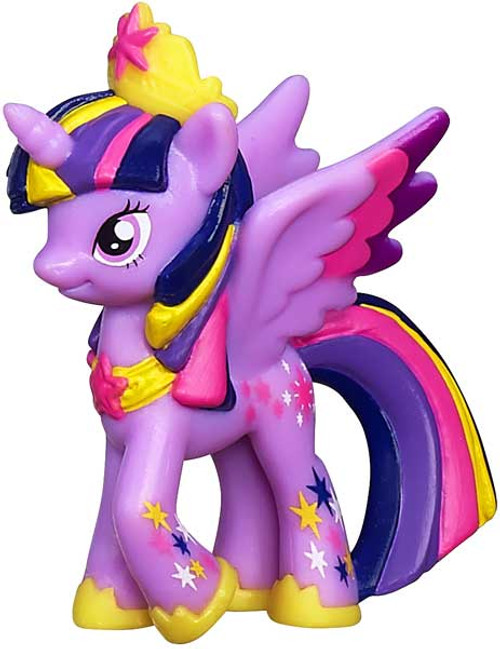 My Little Pony Friendship is Magic 2 Inch Rainbowfied Princess Twilight Sparkle PVC Figure