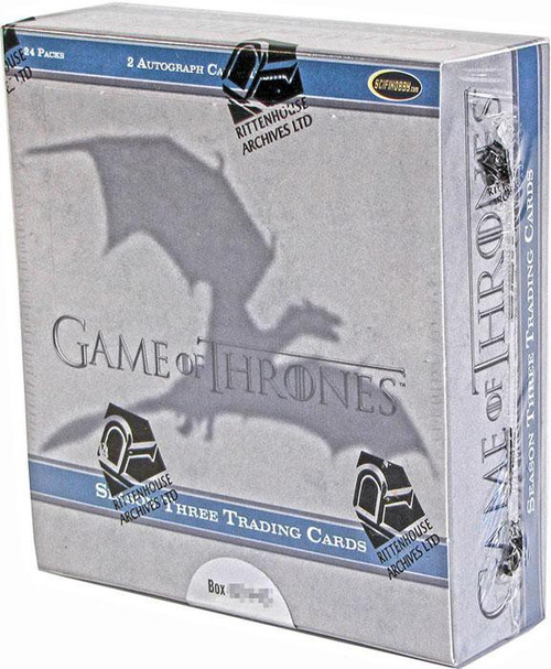 Game of Thrones Season 3 Trading Card Box
