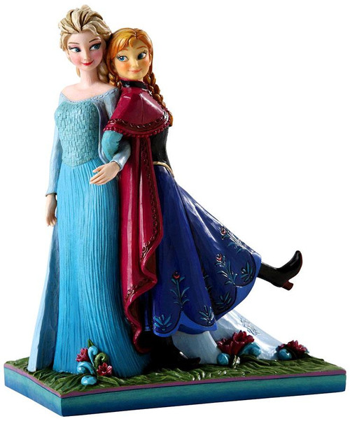 Disney Frozen Traditions Anna & Elsa Statue