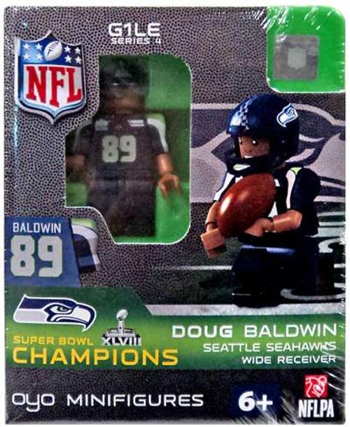 Seattle Seahawks NFL Super Bowl XLVIII Champions Doug Baldwin Minifigure