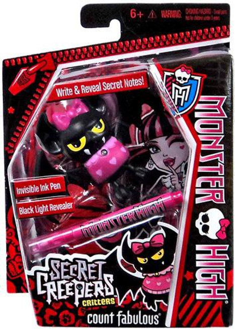 Monster High Secret Creepers Critters Count Fabulous Figure