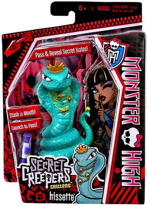 Monster High Secret Creepers Critters Hissette Figure