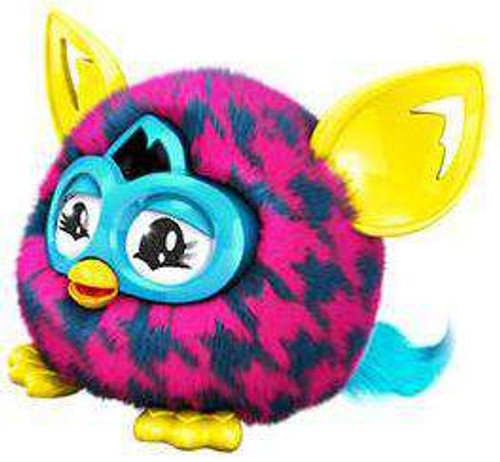 Furby Furblings Purple Houndstooth Figure Hasbro Toys - ToyWiz