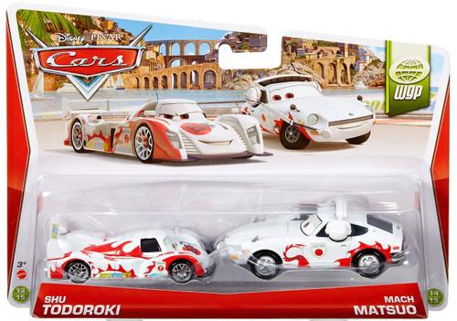 Disney Cars The World of Cars Series 2 Shu Todoroki & Mach Matsuo Diecast Car