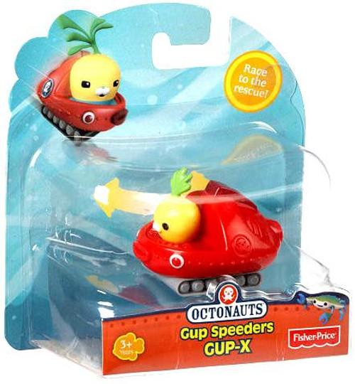 Fisher Price Octonauts Gup Speeders GUP-X Toy Vehicle