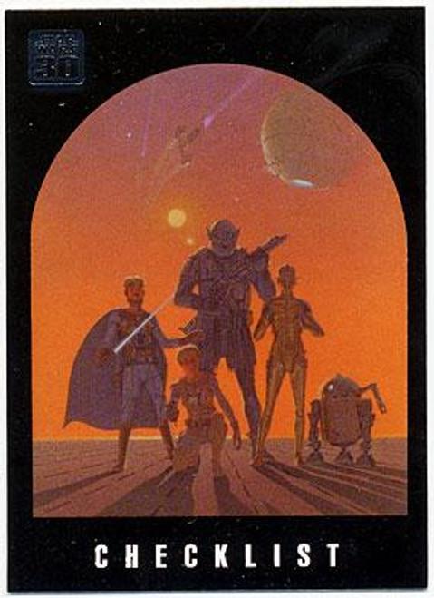 Star Wars 30th Anniversary Complete Set