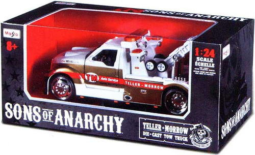 Sons of Anarchy Teller Morrow Tow Truck Diecast Vehicle