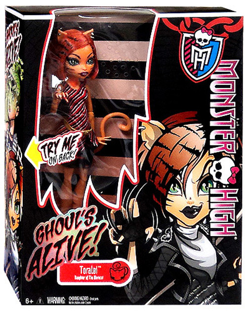 Monster High Ghouls Alive Toralei 10.5-Inch Doll