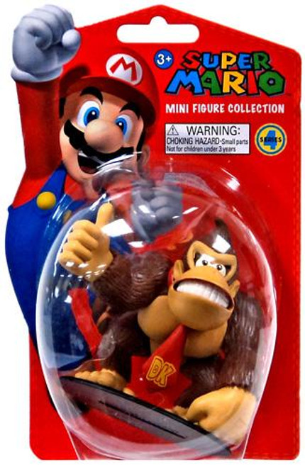 Super Mario Bros Series 4 Donkey Kong 2-Inch Vinyl Mini Figure