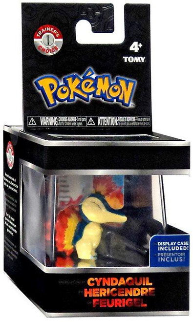 Pokemon Cyndaquil Trainer's Choice Mini Figure