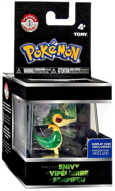 Pokemon Snivy Trainer's Choice Mini Figure