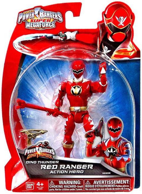 Power Rangers Super Megaforce Dino Thunder Red Ranger Action Hero Action Figure