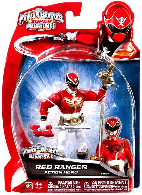 Power Rangers Super Megaforce Megaforce Red Ranger Action Hero Action Figure