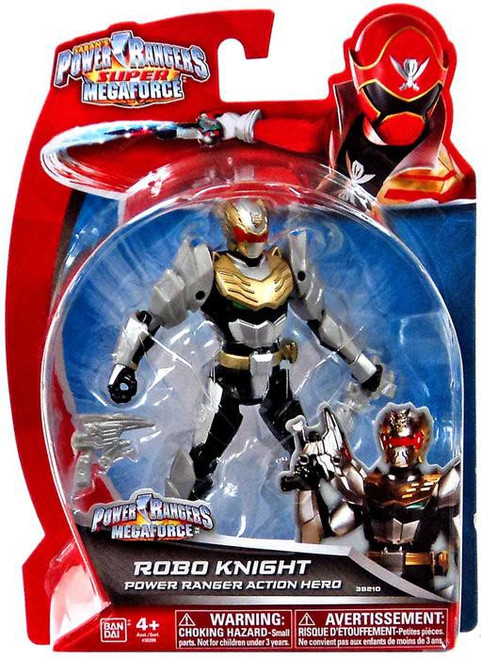 Power Rangers Super Megaforce Robo Knight Power Ranger Action Hero Action Figure