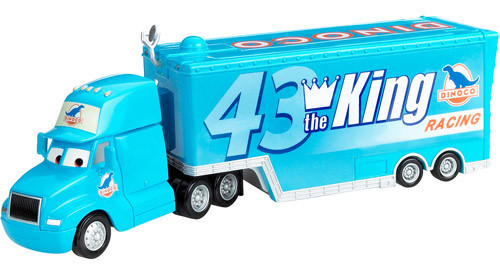 Disney Cars The World of Cars Gray Hauler Exclusive Diecast Car