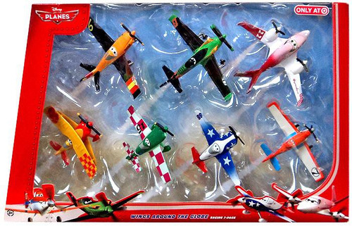 Disney Planes Wings Around the Globe Exclusive Diecast Plane 7-Pack [Set #2]