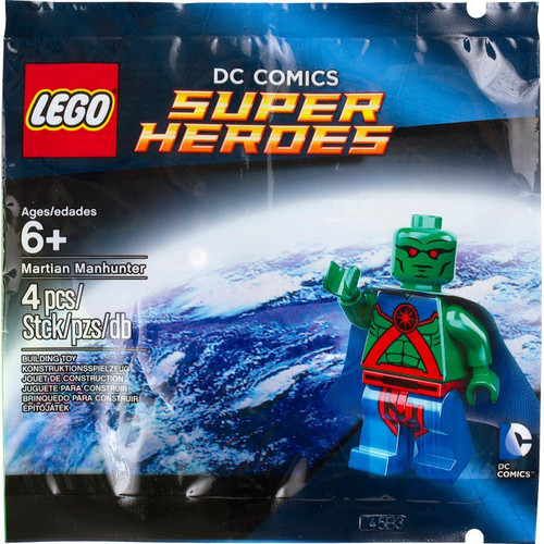 LEGO DC Universe Super Heroes Martian Manhunter Exclusive Mini Set #5002126 [Bagged]