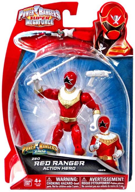 Power Rangers Super Megaforce Zeo Red Ranger Action Hero Action Figure