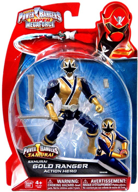 Power Rangers Super Megaforce Samurai Gold Ranger Action Hero Action Figure