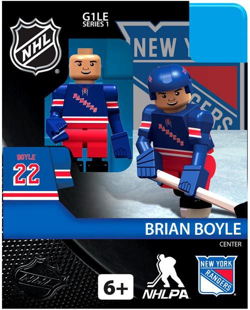 New York Rangers NHL Hockey Generation 1 Series 1 Brian Boyle Minifigure