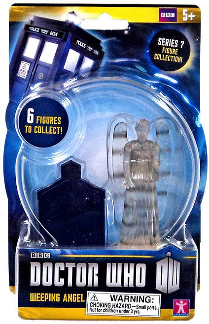 Doctor Who Series 7 Weeping Angel Action Figure [Clear Variant]