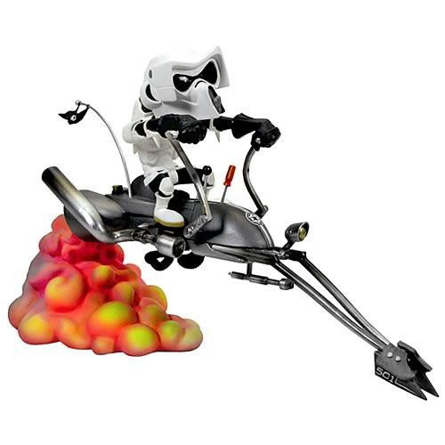 Star Wars Kustomz Speederbike Statue