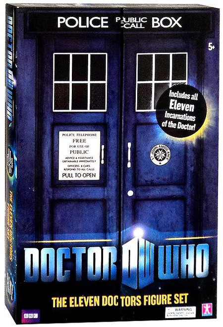 Doctor Who The Eleven Doctors Action Figure Set