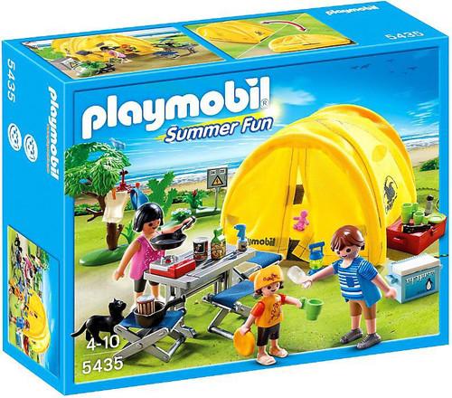 Playmobil Summer Fun Family Camping Trip Set #5435