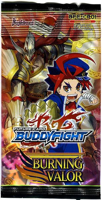 Future Card BuddyFight Burning Valor Character Pack Booster Pack BFE-CP01