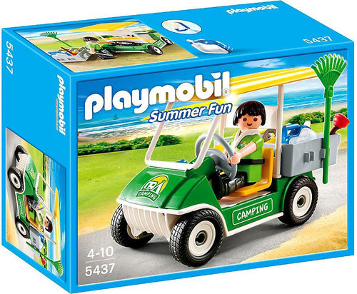 Playmobil Summer Fun Camping Service Cart Set #5437