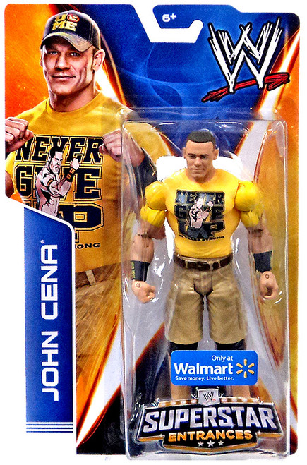WWE Wrestling Superstar Entrances 2014 John Cena Exclusive Action Figure [Yellow T-Shirt]