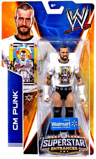 WWE Wrestling Superstar Entrances 2014 CM Punk Exclusive Action Figure