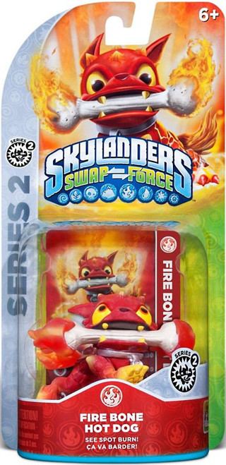 Skylanders Swap Force Series 2 Fire Bone Hot Dog Figure Pack