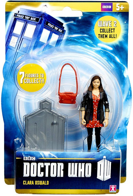 Doctor Who Wave 2 Clara Oswald Action Figure [Red Dress]
