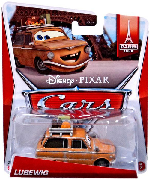 Disney Cars Lubewig Diecast Car #4