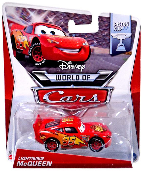Disney Cars The World of Cars Lightning McQueen Diecast Car #1