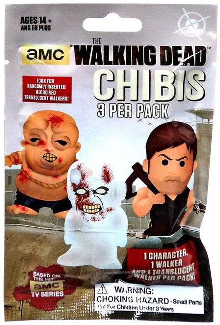 AMC TV The Walking Dead Chibis Figure Pack